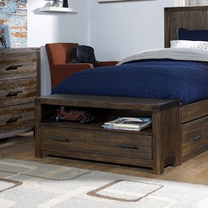 Youth Bed End Storage Bench