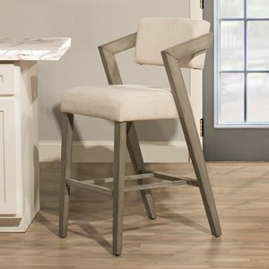 Modern Bar Height Stool