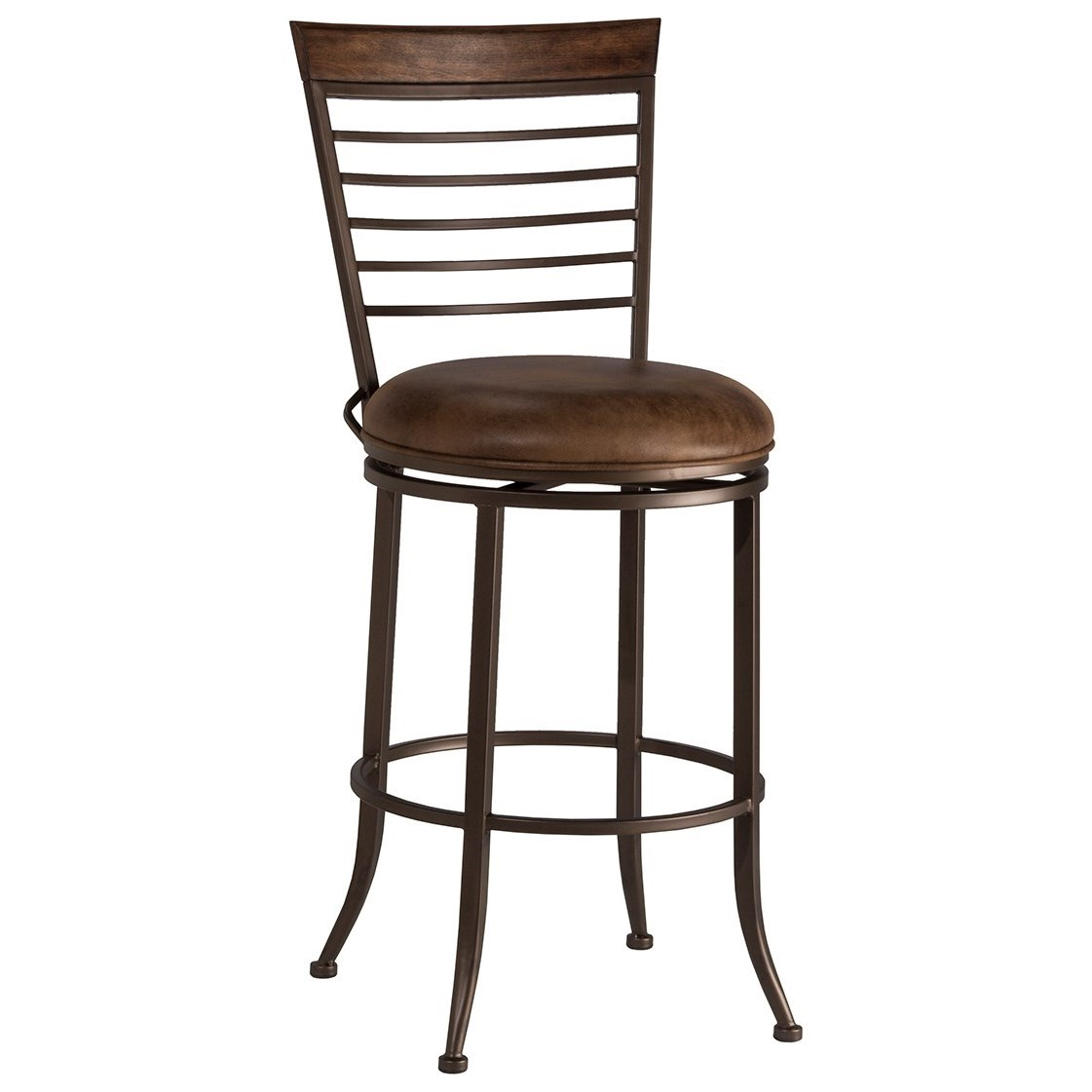 Terrell Commercial Grade Swivel Counter Stool by Hillsdale at Northeast Factory Direct