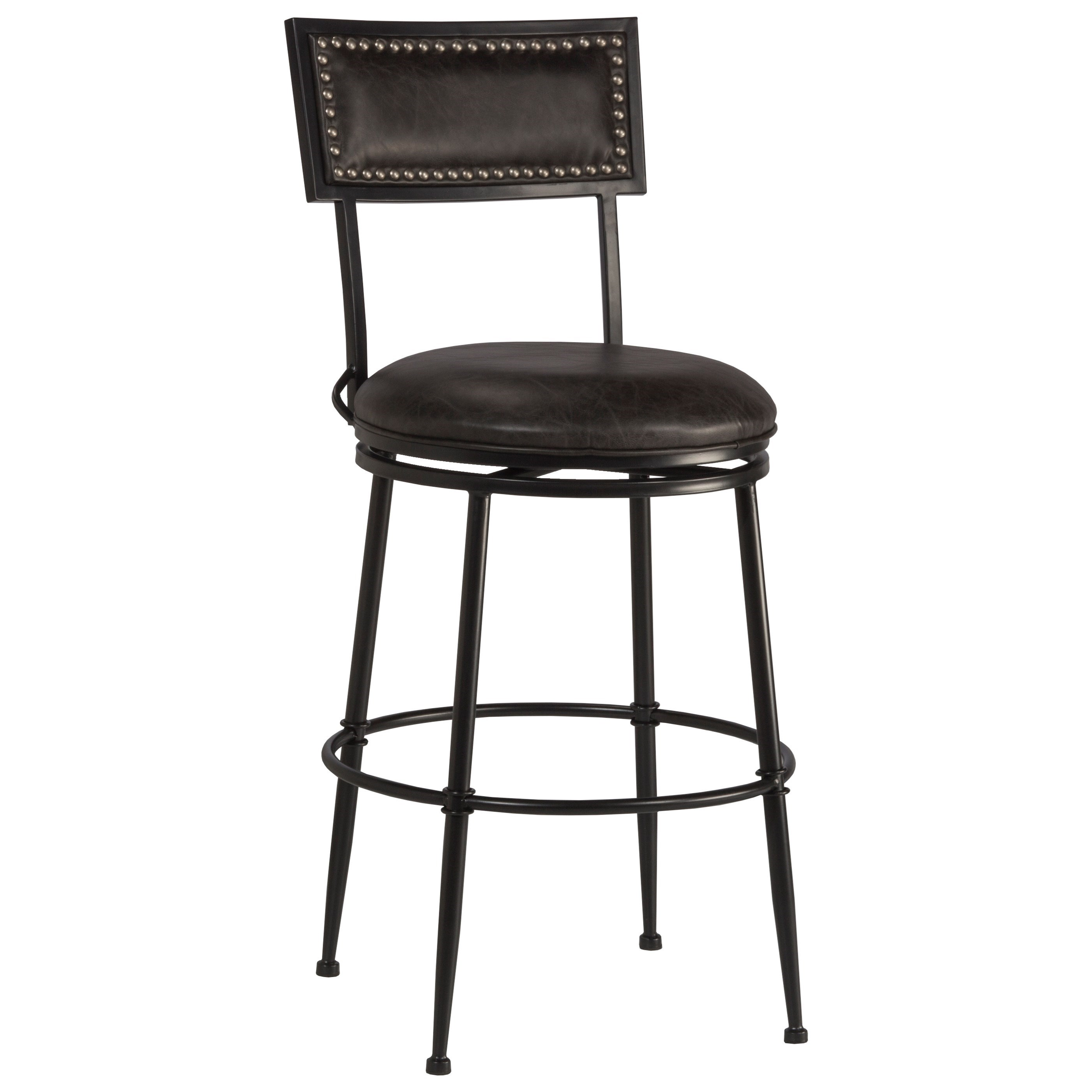 Thielmann Commercial Grade Swivel Counter Stool by Hillsdale at Northeast Factory Direct