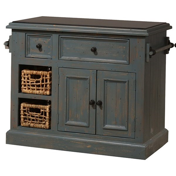 Tuscan Retreat Small Granite Top Kitchen Island  by Hillsdale at Stoney Creek Furniture