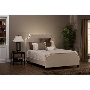 Dekland Queen Bed with Nail Head Trim