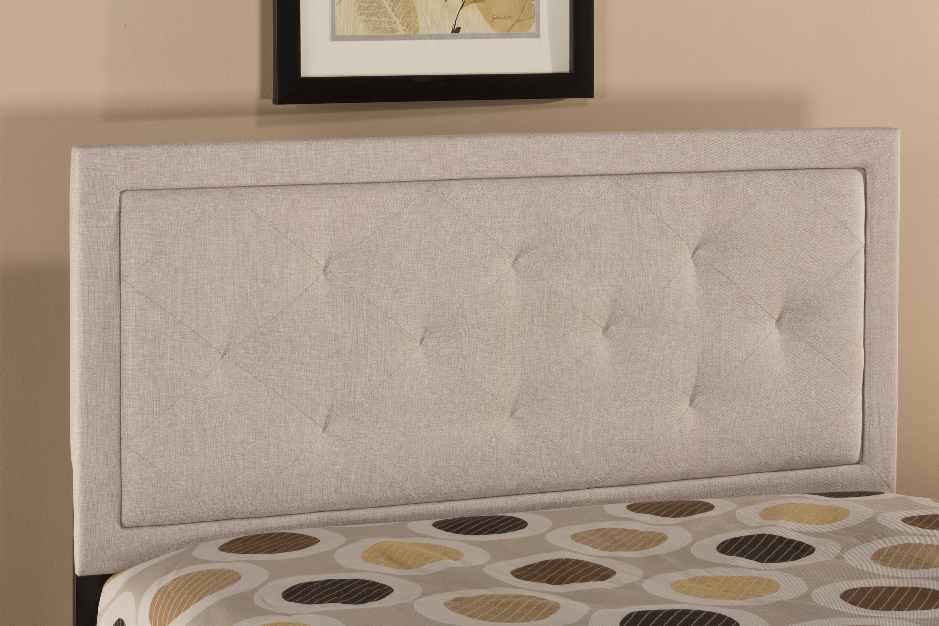 Upholstered Beds Becker Queen Headboard by Hillsdale at Mueller Furniture