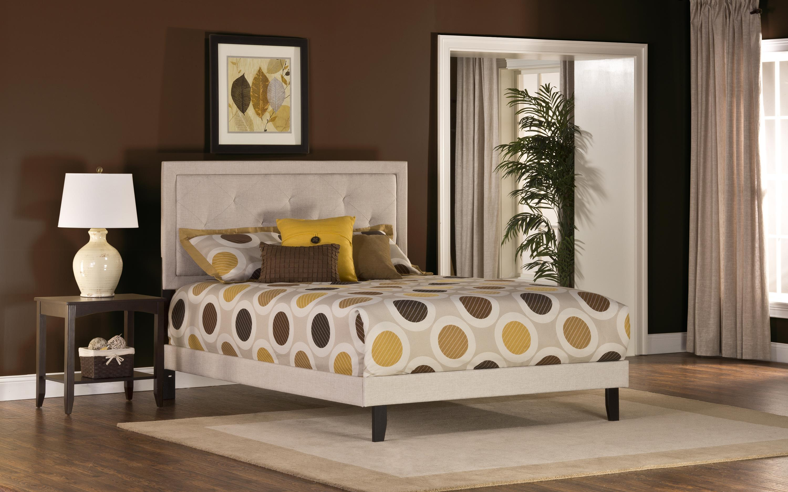 Upholstered Beds Becker Twin Bed by Hillsdale at Mueller Furniture