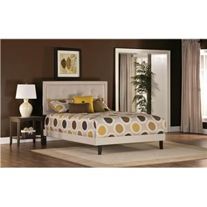 Becker Twin Bed with Button Tufting