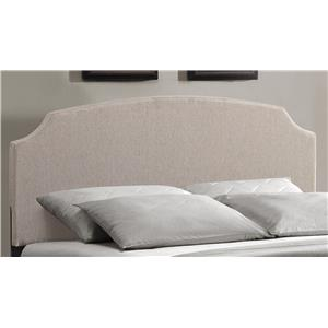 Hillsdale Upholstered Beds Lawler King Headboard with Rails