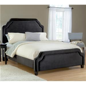 Hillsdale Upholstered Beds Queen Carlyle Fabric Bed