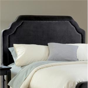 Hillsdale Upholstered Beds Queen Carlyle Fabric Headboard