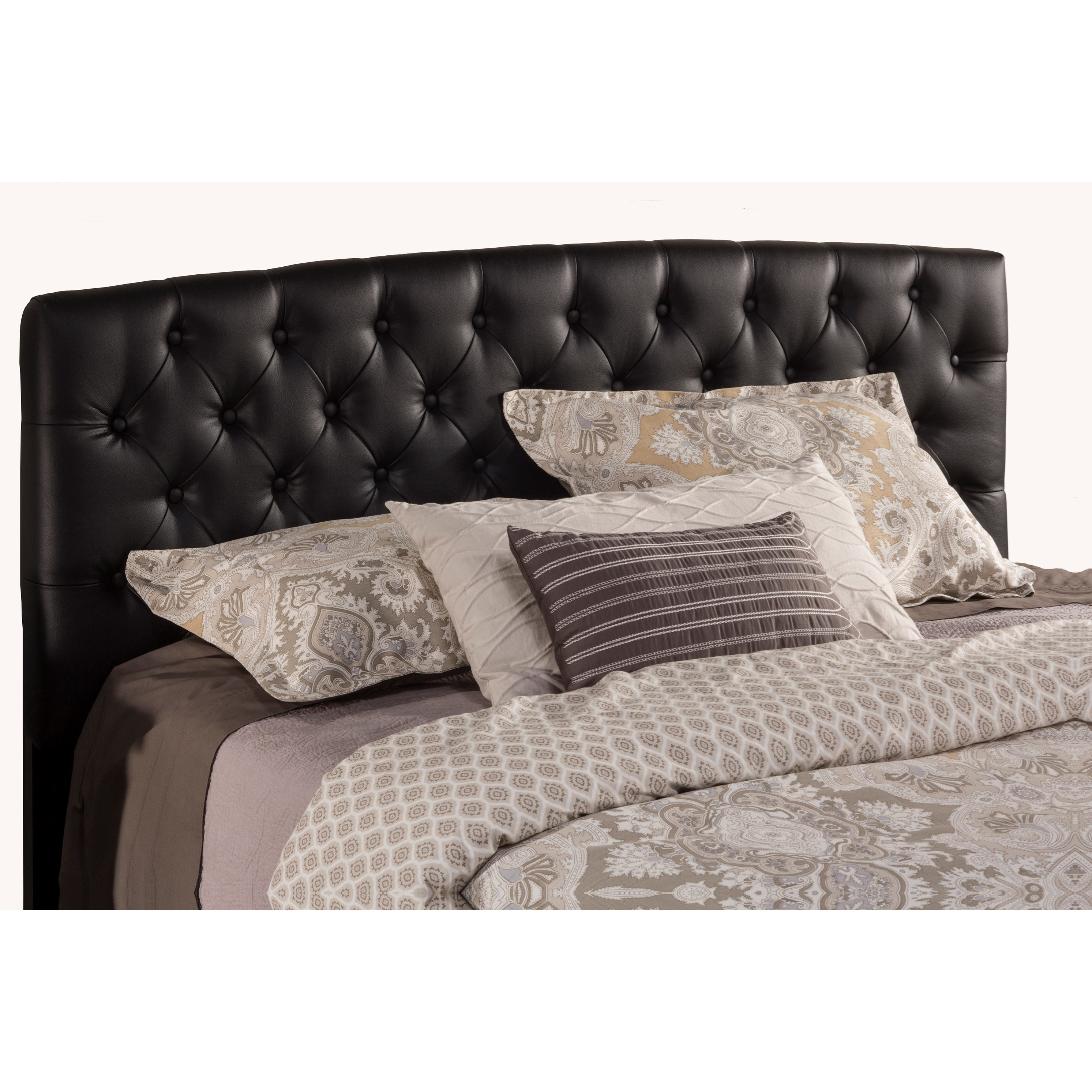 Upholstered Beds Queen Headboard by Hillsdale at Mueller Furniture