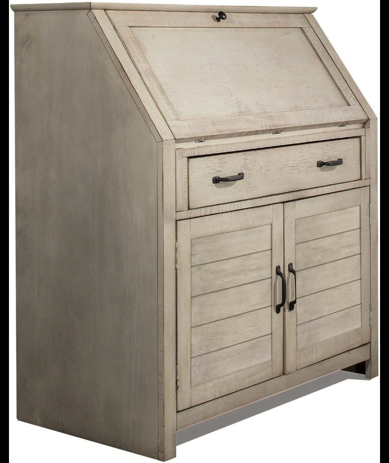 Villa Drop Lid Desk by Hillsdale at Johnny Janosik