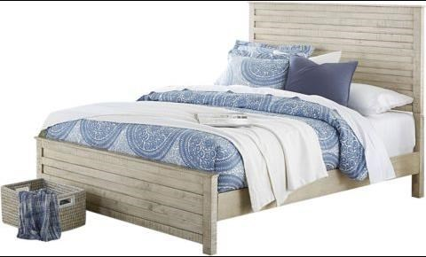 Villa Queen Panel Bed by Hillsdale at Johnny Janosik