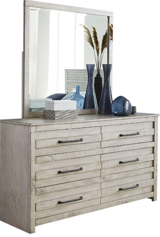 Villa Dresser and Mirror by Hillsdale at Johnny Janosik