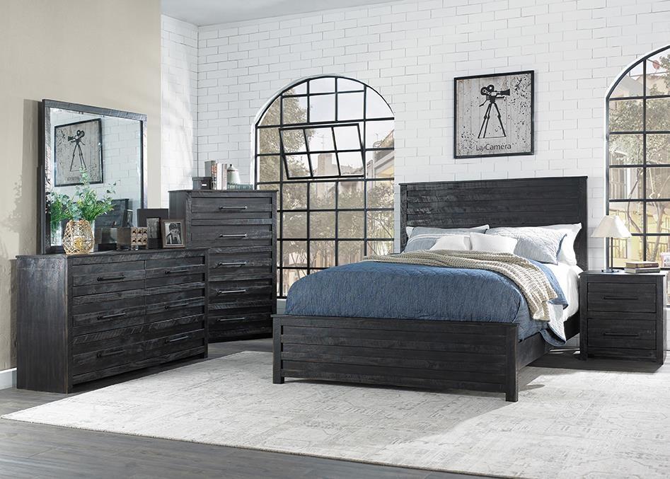 Villa 4 Piece King Bedroom Set by Hillsdale at Johnny Janosik