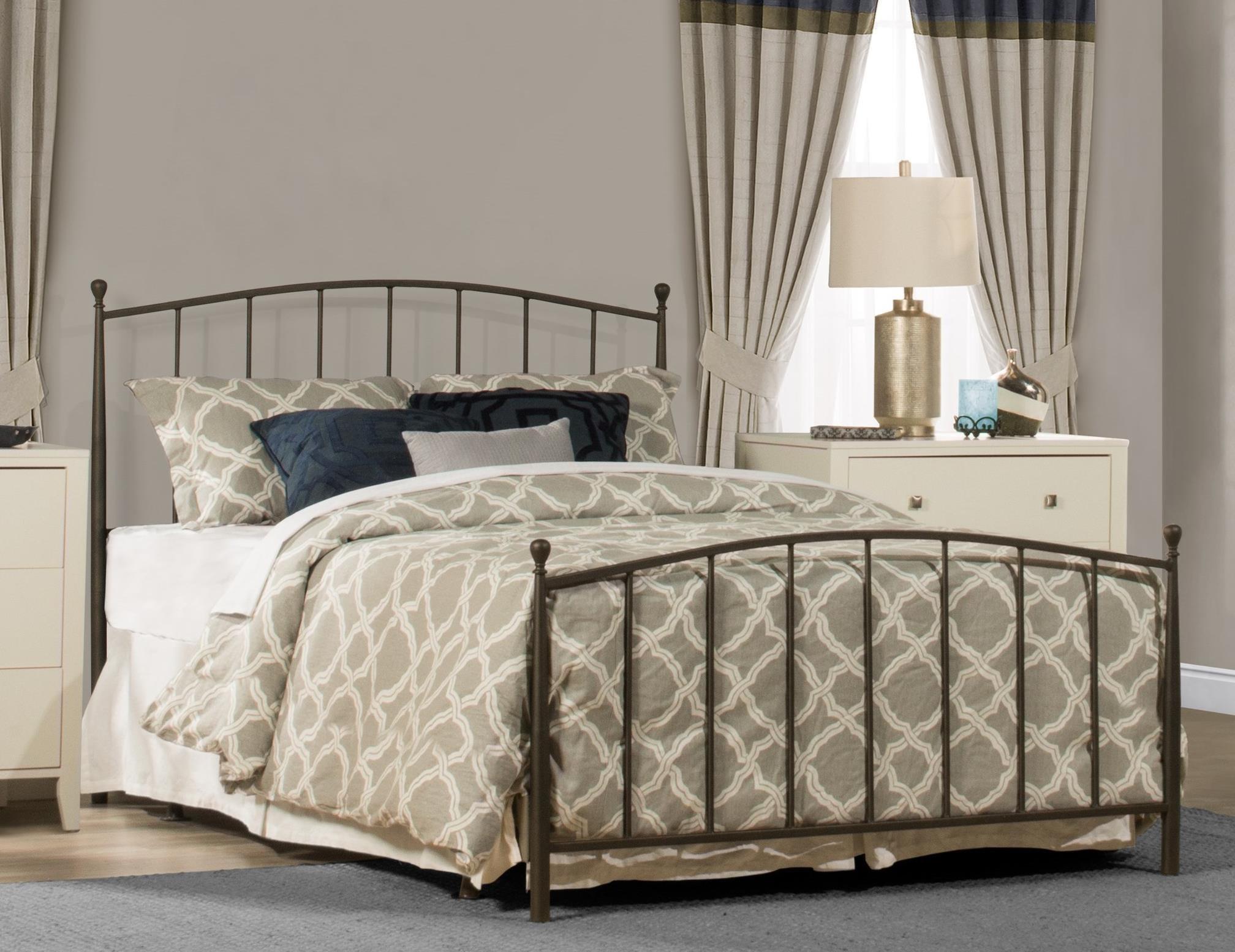 Warwick Metal Full Bed at Ruby Gordon Home