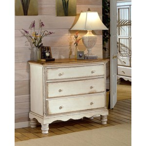 Hillsdale Wilshire Bedside Chest