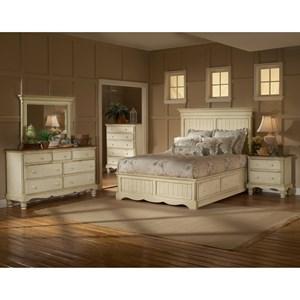 Hillsdale Wilshire Queen Panel Storage Bed