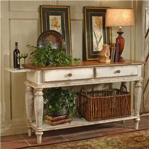 Hillsdale Wilshire Lean Sideboard Table