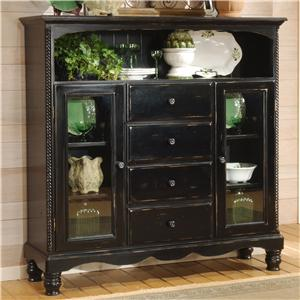 Hillsdale Wilshire Tall Country Baker's Cabinet