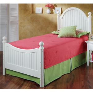 Hillsdale Wood Beds Twin Westfield Bed