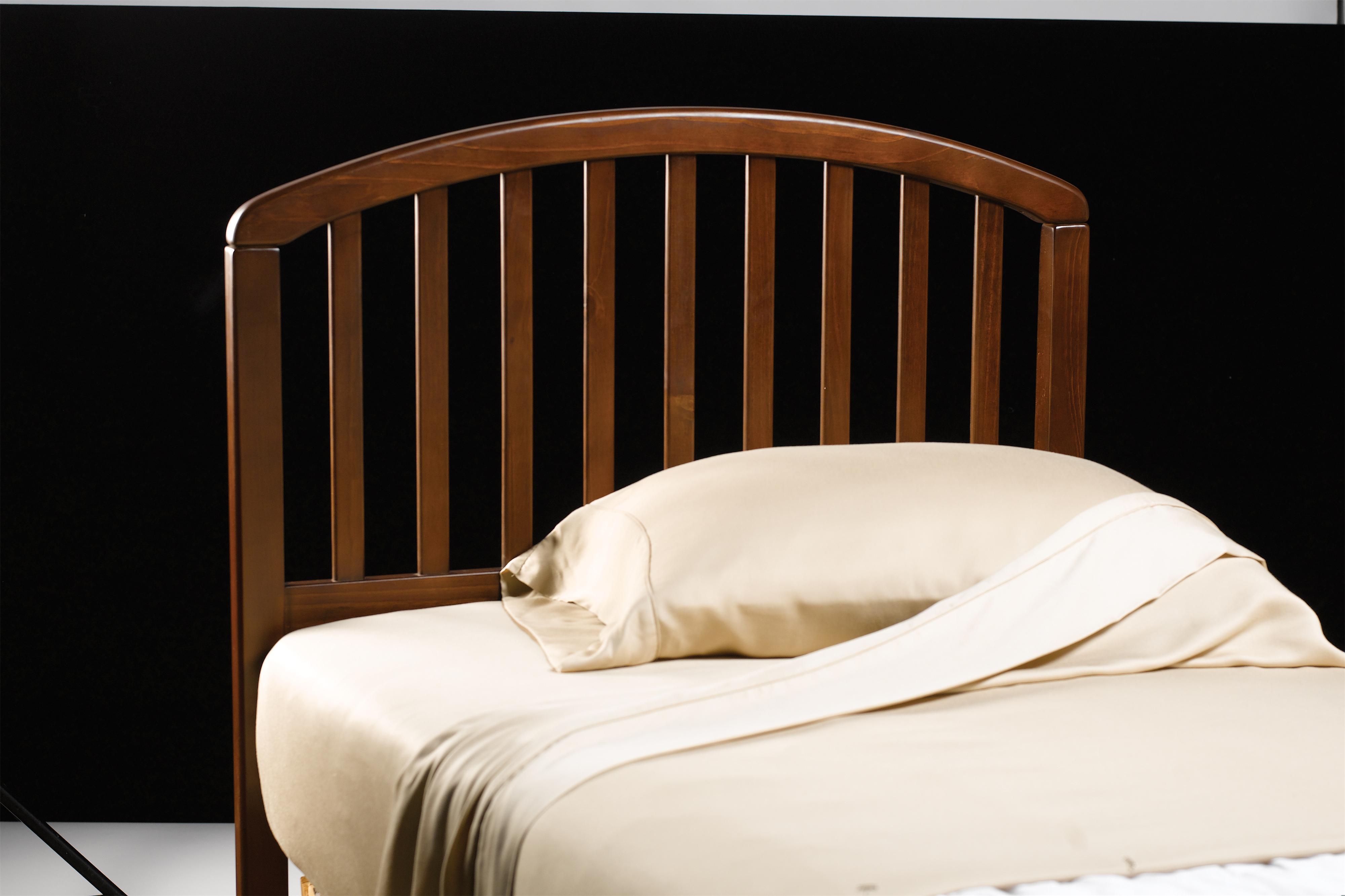 Wood Beds Twin Carolina Headboard by Hillsdale at Crowley Furniture & Mattress