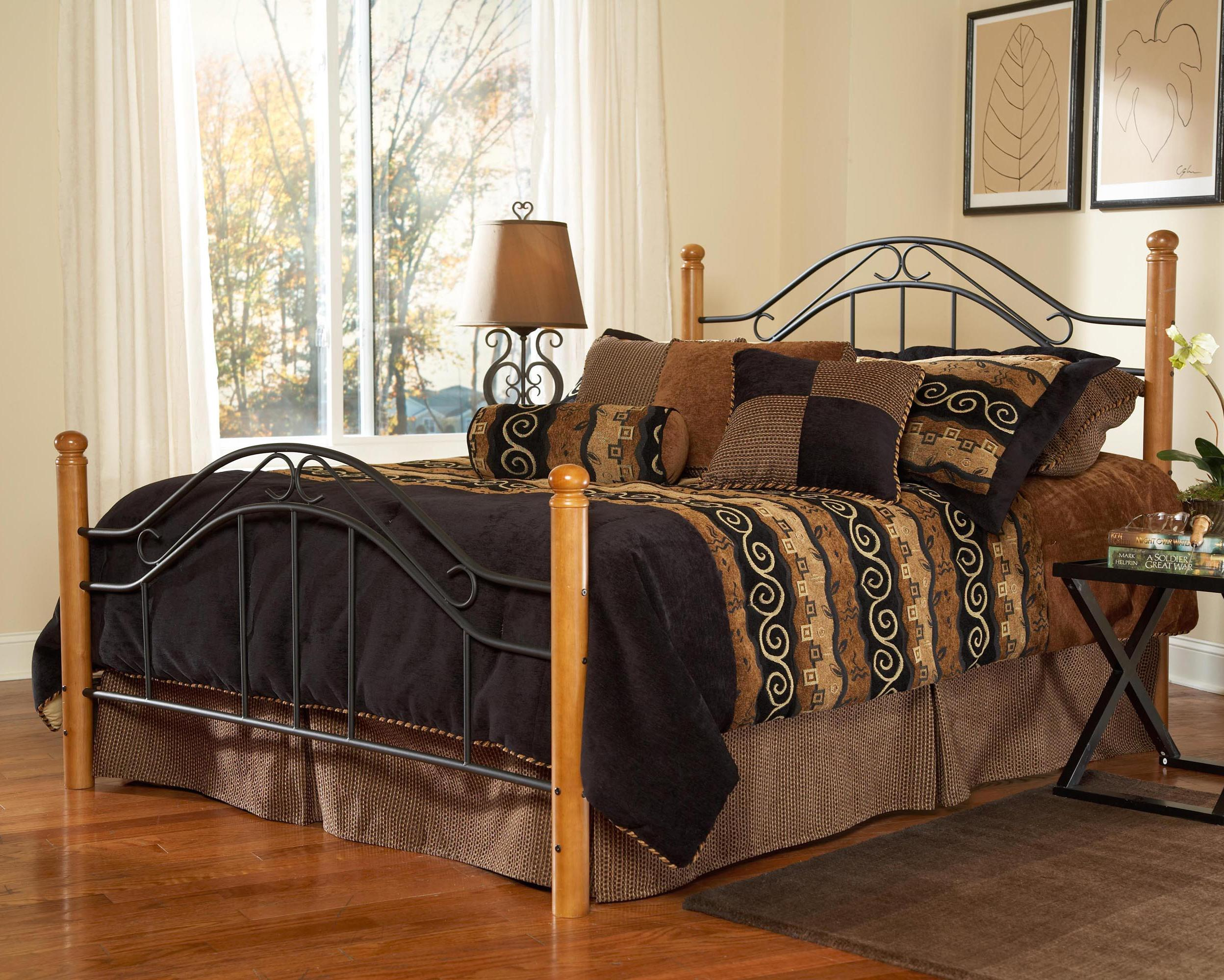 Wood Beds King Winsloh Bed by Hillsdale at Mueller Furniture