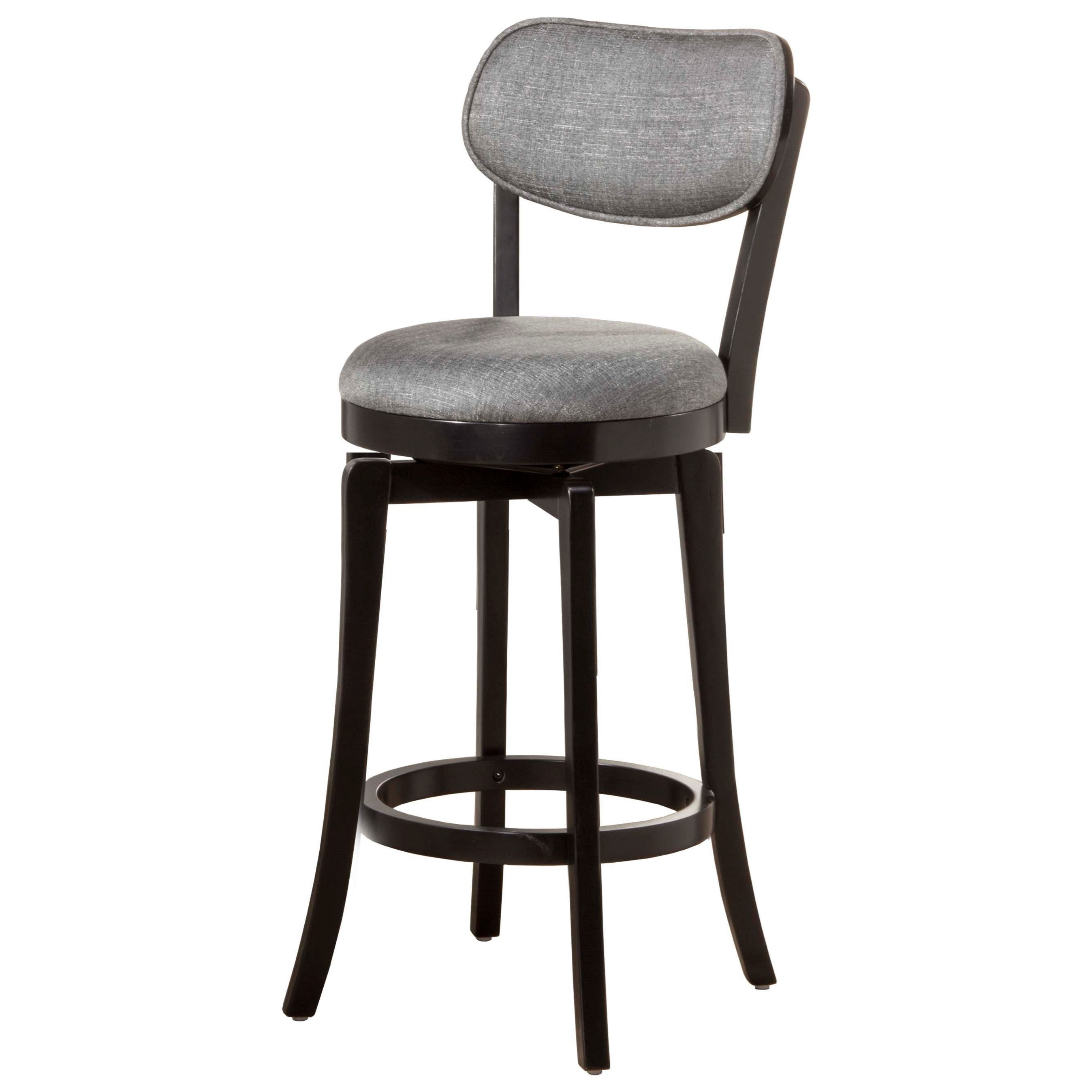 Wood Stools Swivel Counter Stool by Hillsdale at Simply Home by Lindy's