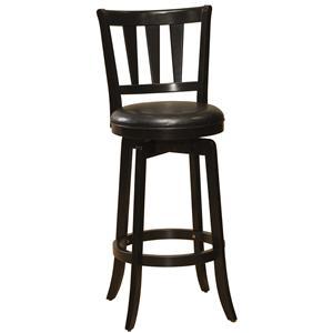 "30"" Bar Height Presque Isle Swivel Bar Stool"