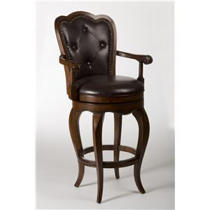 Hillsdale Wood Stools Eastwind Swivel Counter Stool