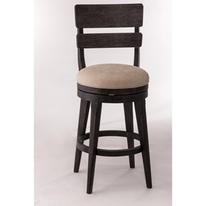 Upholstered Swivel Counter Stool