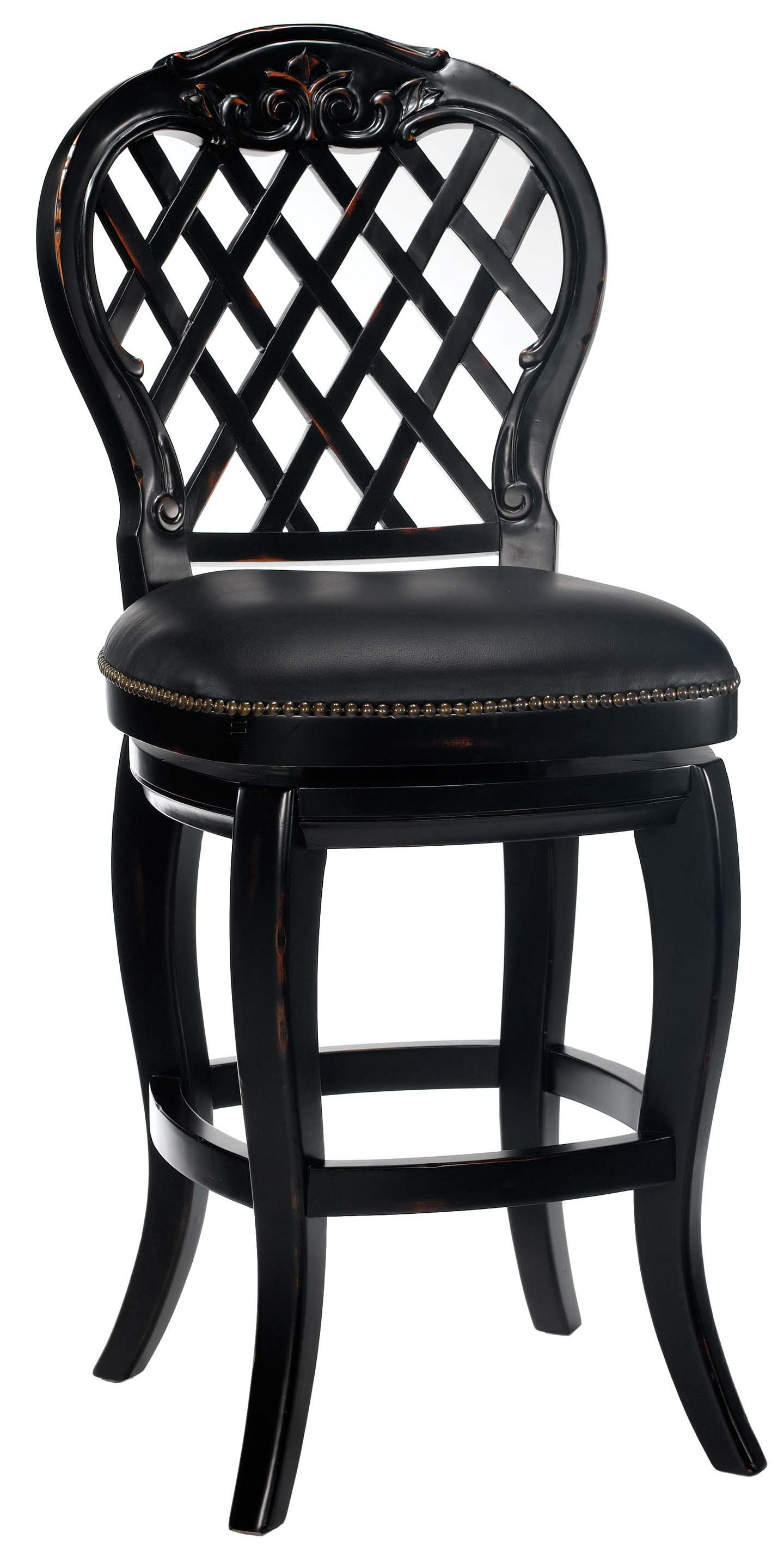 "Wood Stools 26"" Counter Height Braxton Stool by Hillsdale at VanDrie Home Furnishings"