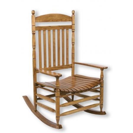 Cumberland Wooden Rocker by Hinkle Chair Co. at Westrich Furniture & Appliances