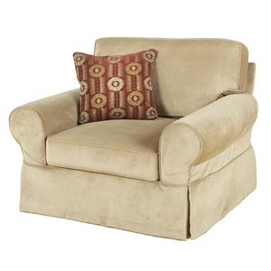 HM Richards Hayward Skirted Chair