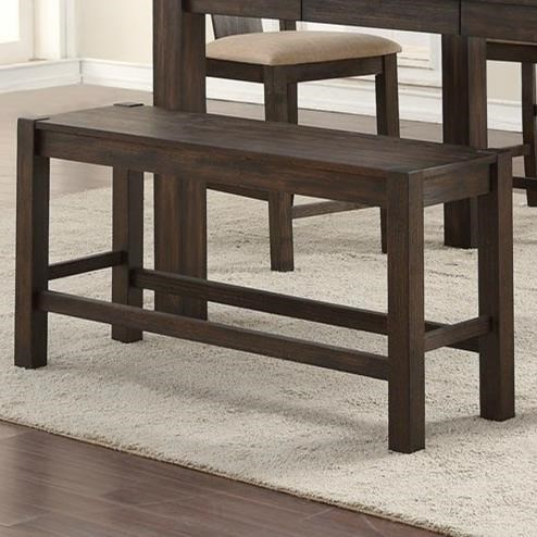 Tyler Pub Bench by HH at Walker's Furniture