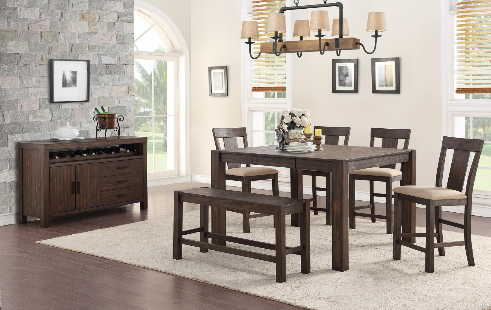Tyler 6 Pc. Dining Set by HH at Walker's Furniture