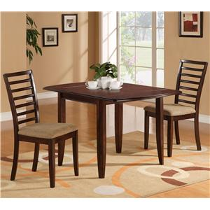 Holland House 1237 Dining 3-Piece Dining Set