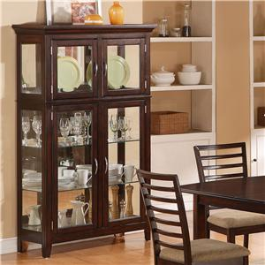 Holland House 1237 Dining Curio China Cabinet