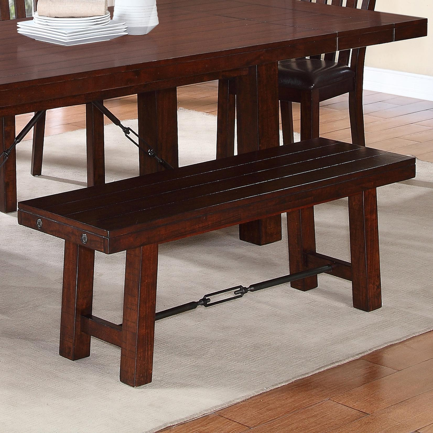 1258 Bench by Warehouse M at Pilgrim Furniture City