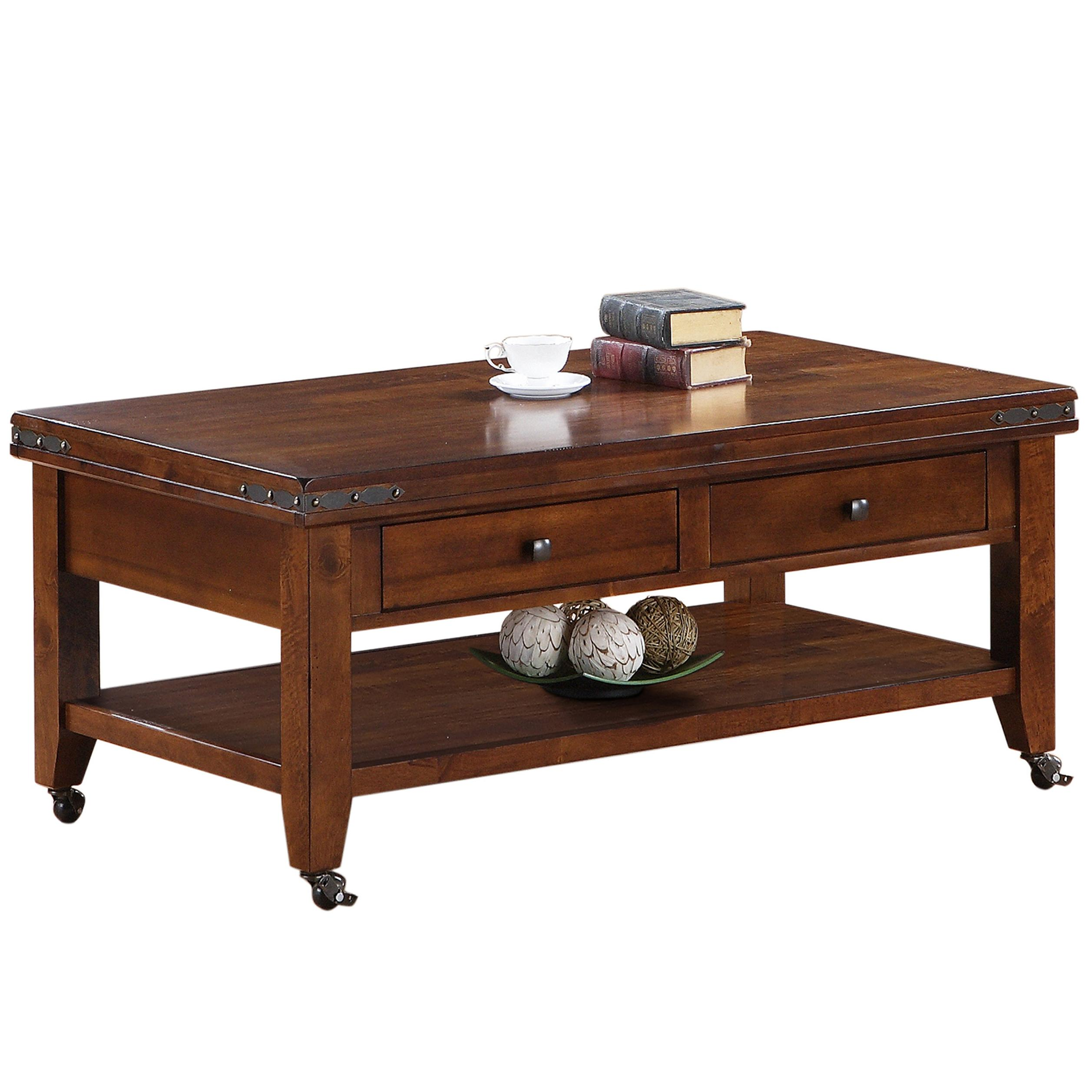 Layton Cocktail Table by HH at Walker's Furniture