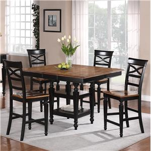 Holland House 1272 Dining 5-Piece Pub Set