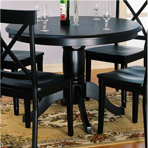 Holland House 1290 Round Pedestal Table
