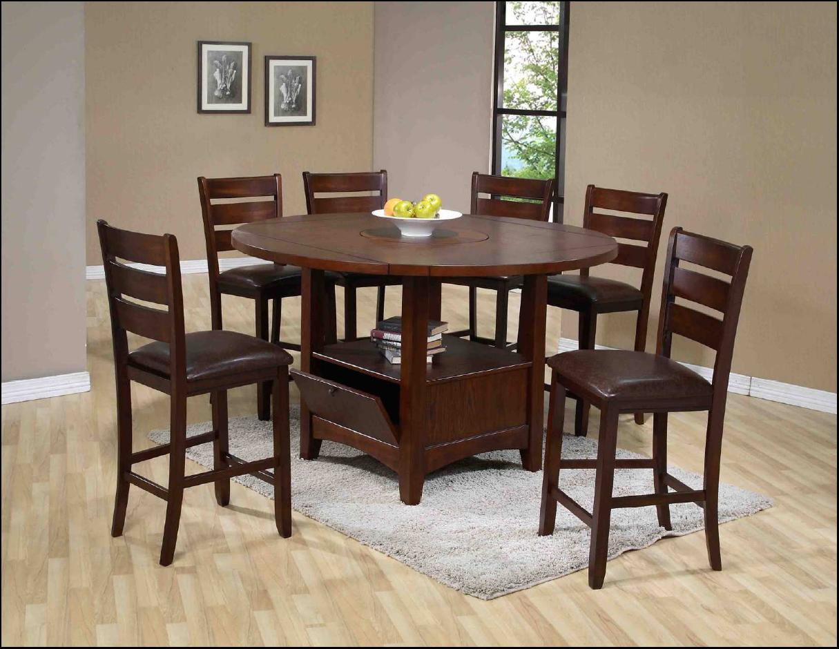 1920 7 Piece Counter Table and Chair Set by Holland House at Lucas Furniture & Mattress
