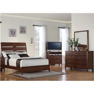 Holland House Braxton 5 Piece Queen Bedroom Group