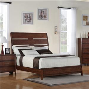 Holland House Braxton Queen Platform Bed
