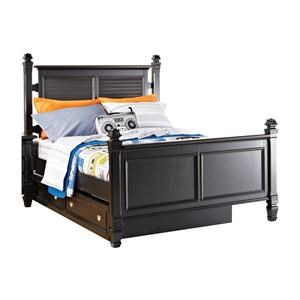 Full Bed w/ Trundle Storage