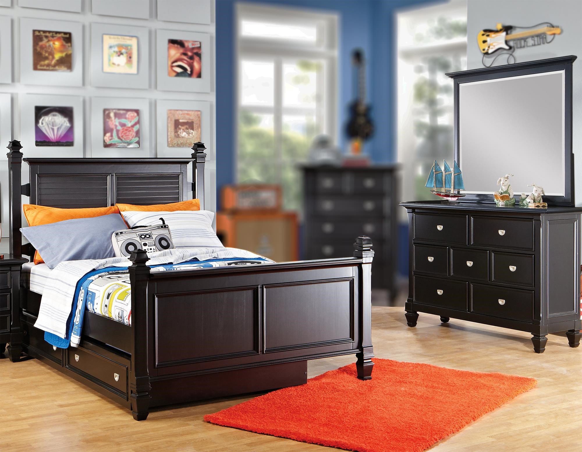 Starry Night 3PC Twin Bedroom Set at Rotmans