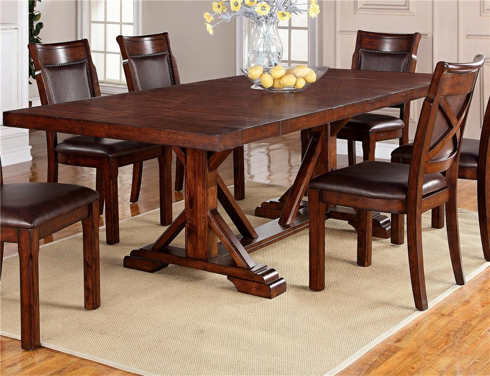 Adirondack 5-Piece Dining Table Set by Warehouse M at Pilgrim Furniture City