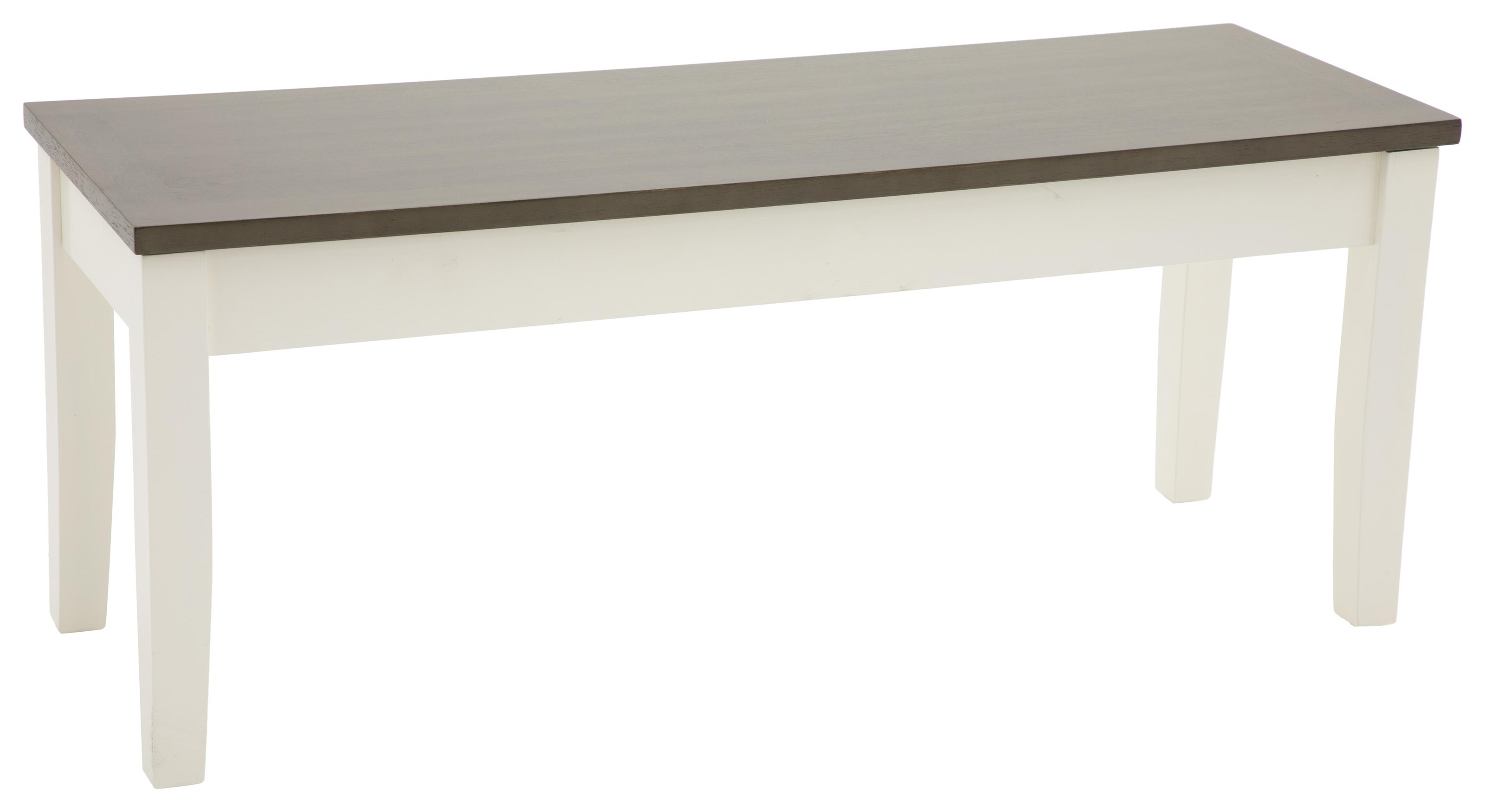 Carey White Carey Standard Height Storage Bench by HH at Walker's Furniture