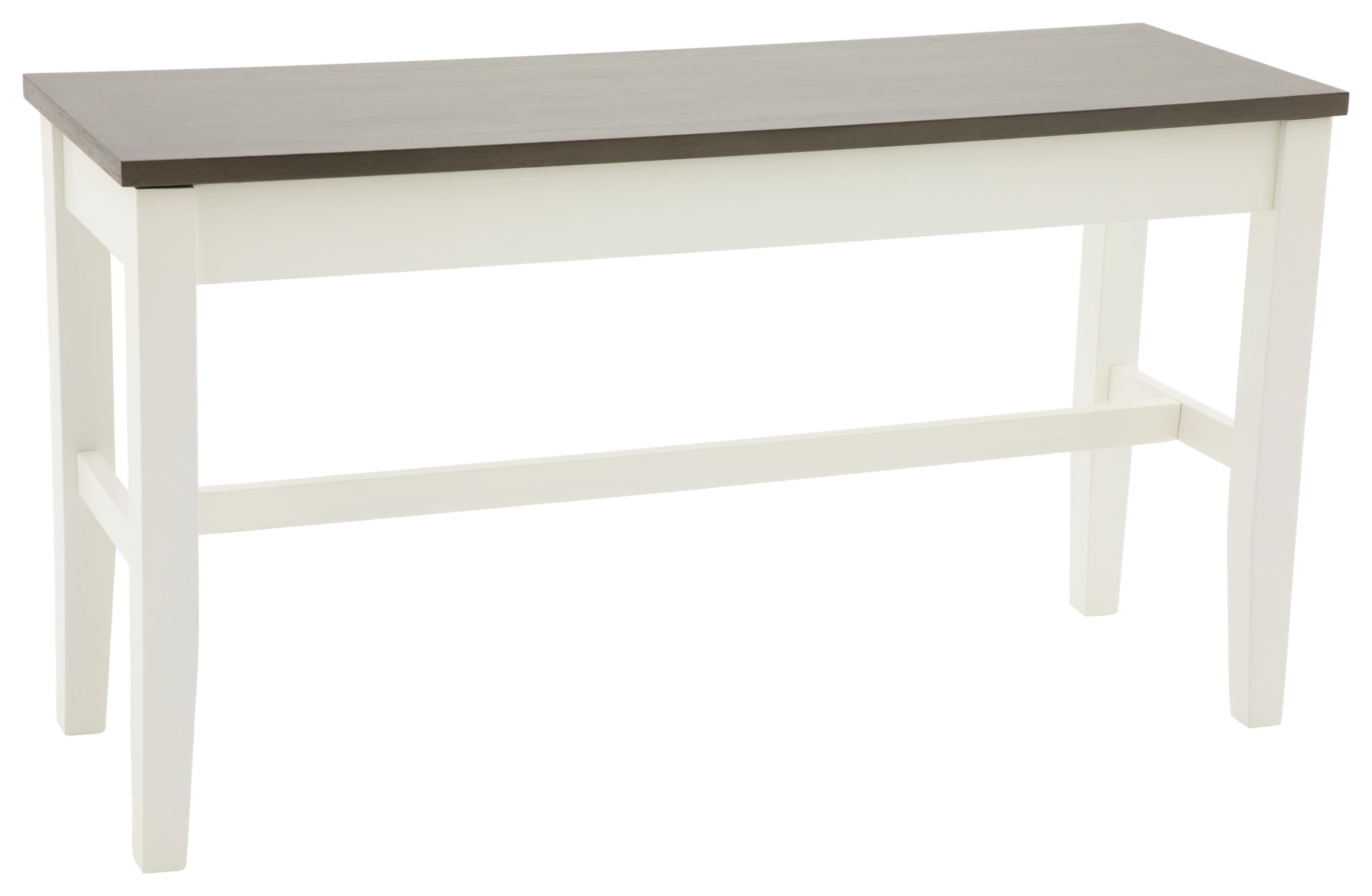 Carey White Carey Counter Height Storage Bench by HH at Walker's Furniture