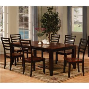 Holland House Adaptable Dining 7 Piece Dining Set