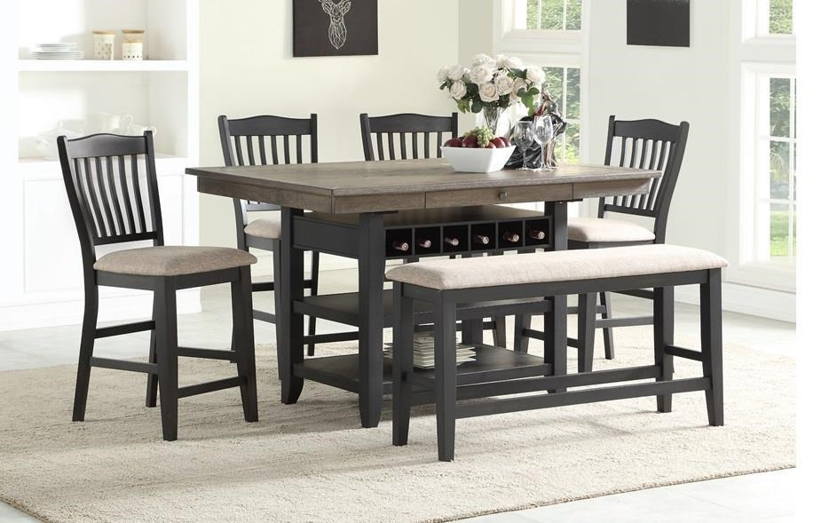 Baytown 6 Piece Dining Set by HH at Walker's Furniture